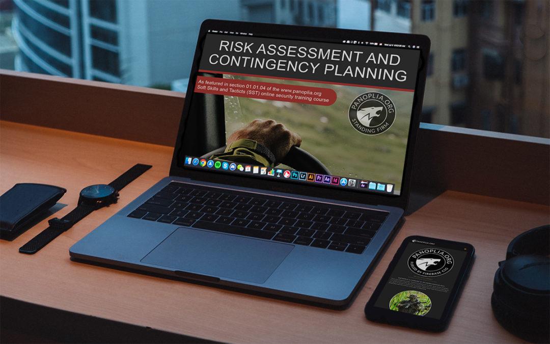 Risk Assessment/Contingency Planning